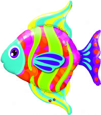 Fashionable Fish Super Shape Foil Balloon
